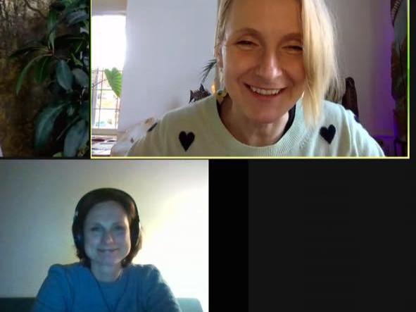 Gisteravond zat ik onverwacht met een wereldberoemde bestseller auteur op Zoom, Elizabeth Gilbert!
